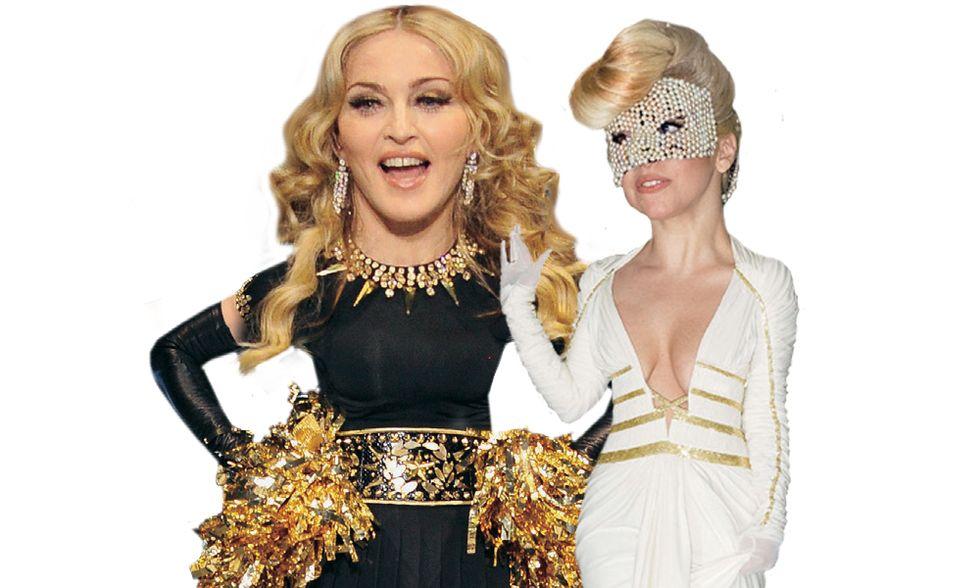 Lady Madonna e Lady Gaga, se l'allieva supera la maestra