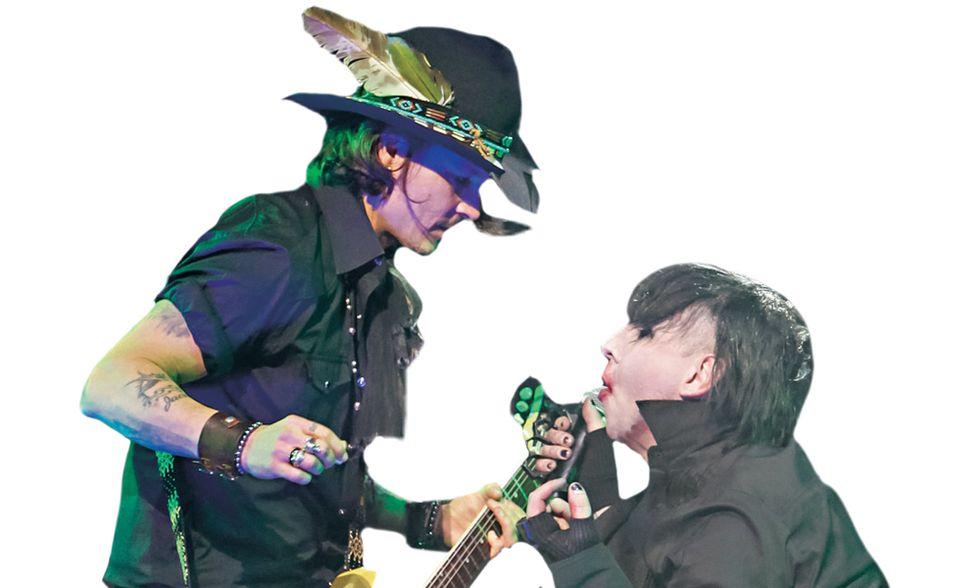 Johnny Depp, il maledetto del cinema fa il maledetto del rock
