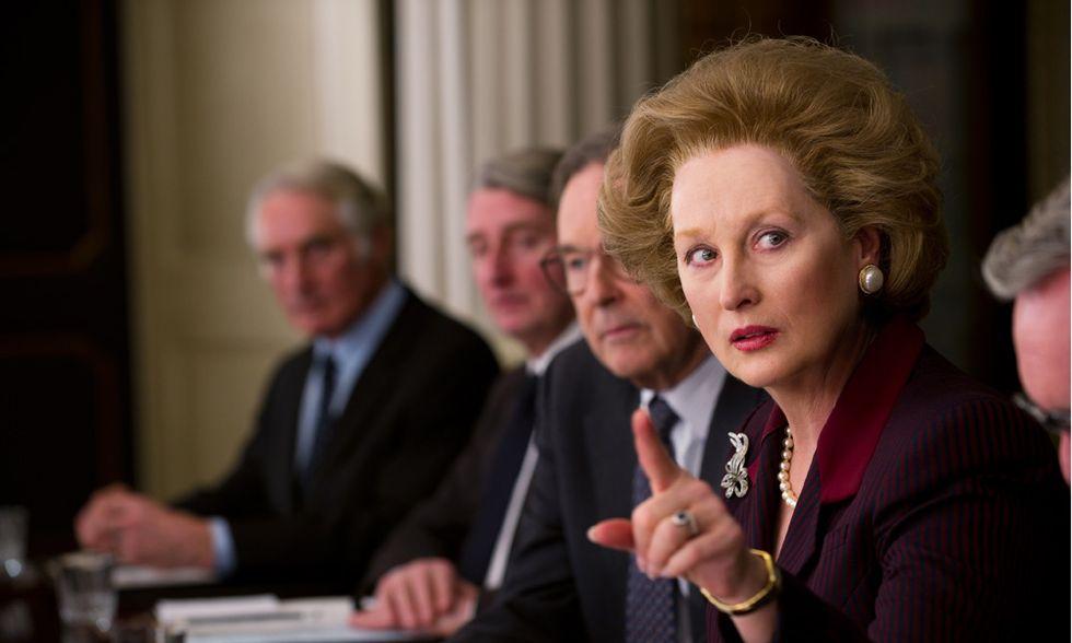 Meryl Streep racconta la Thatcher
