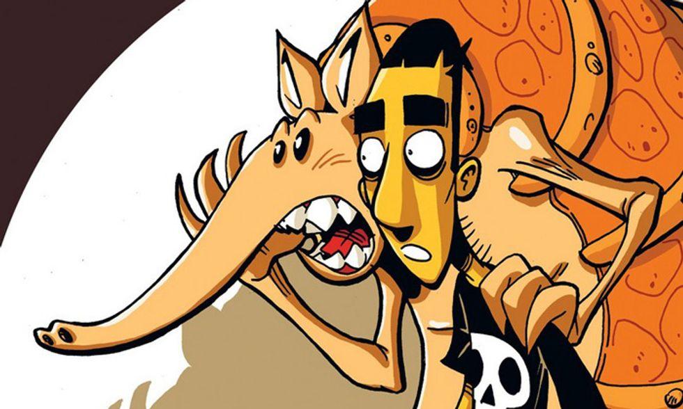"""""""La profezia dell'Armadillo"""": l'autobiografia tragicomica a fumetti torna in una nuova edizione"""