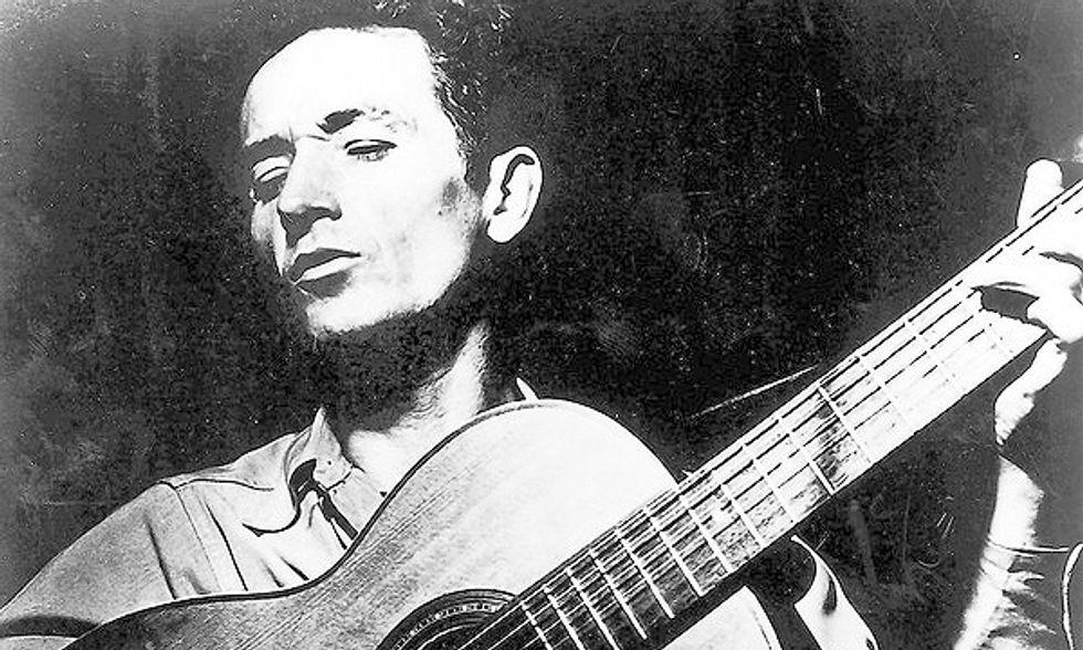 Woody Guthrie, un romanzo inedito pubblicato grazie a Johnny Depp