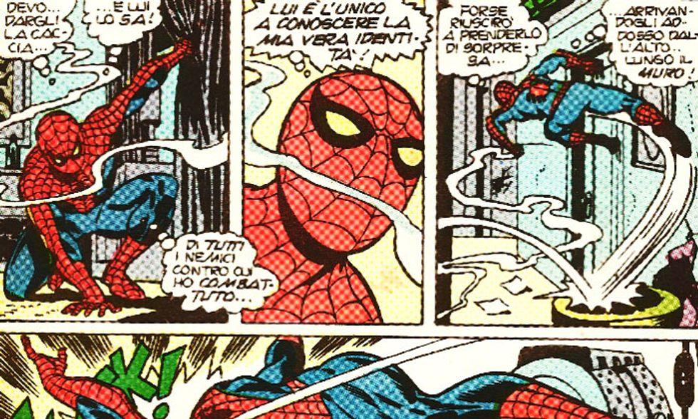 Cinquant'anni di Spider-Man - L'Uomo Ragno in Italia