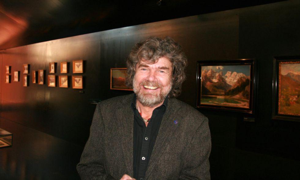 """Reinhold Messner e il Nepal: """"Va rilanciato"""""""