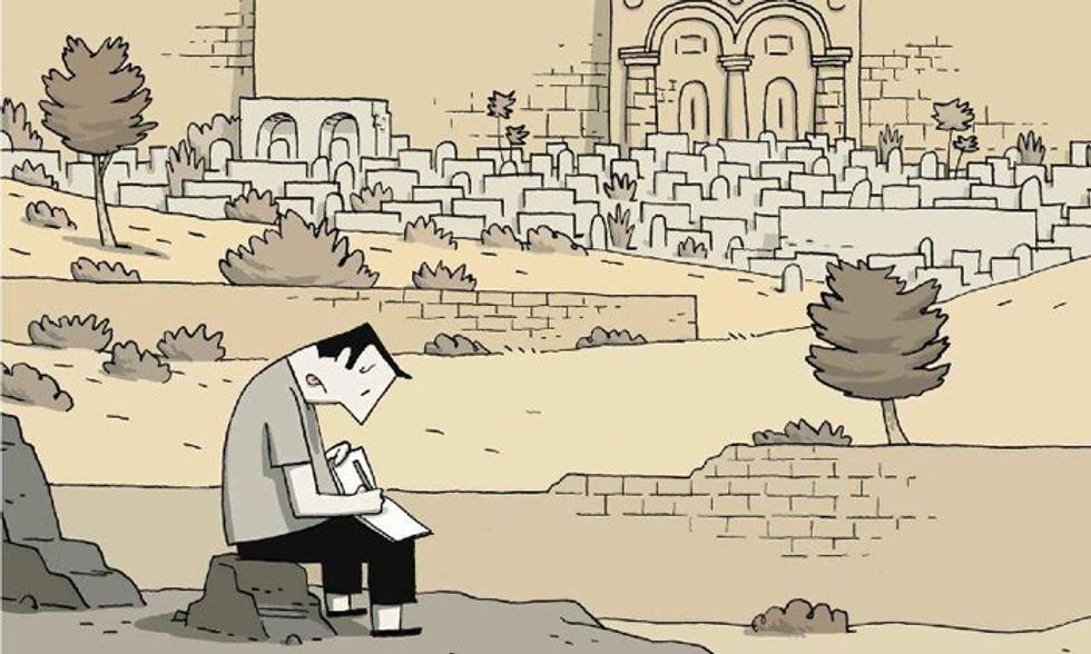 """""""Cronache di Gerusalemme"""": istantantanee a fumetti del Medio Oriente"""