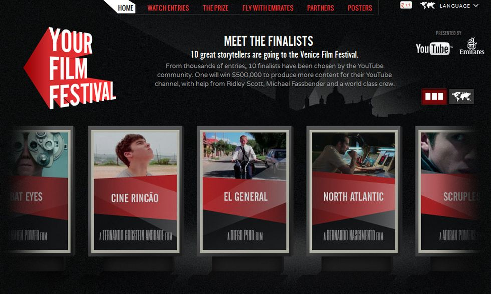Venezia 2012, i dieci corti da YouTube al Lido - I video