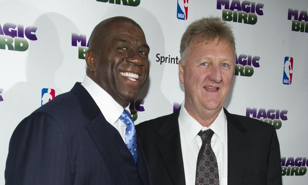 Magic e Larry Bird: il basket è come la vita