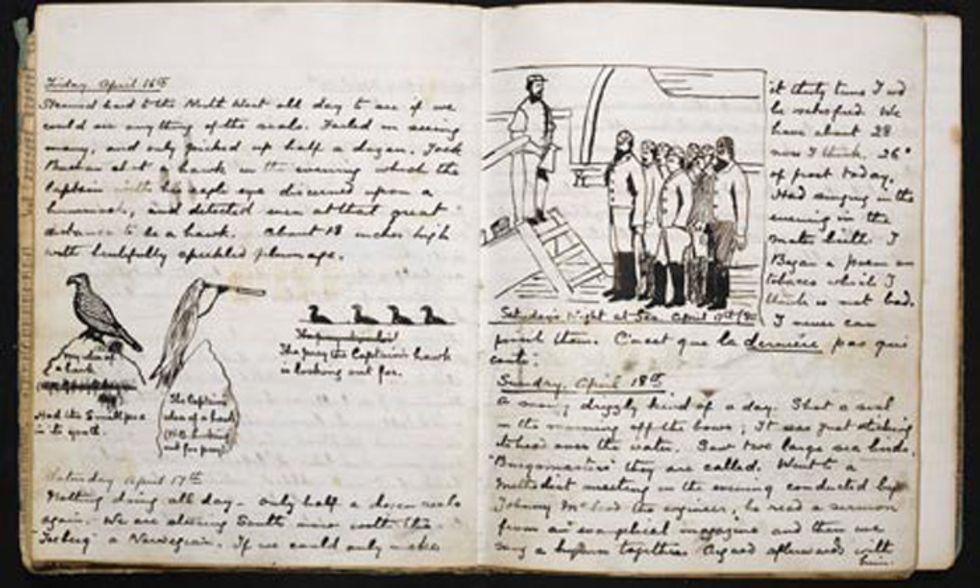 Un inedito Arthur Conan Doyle in versione marinaio
