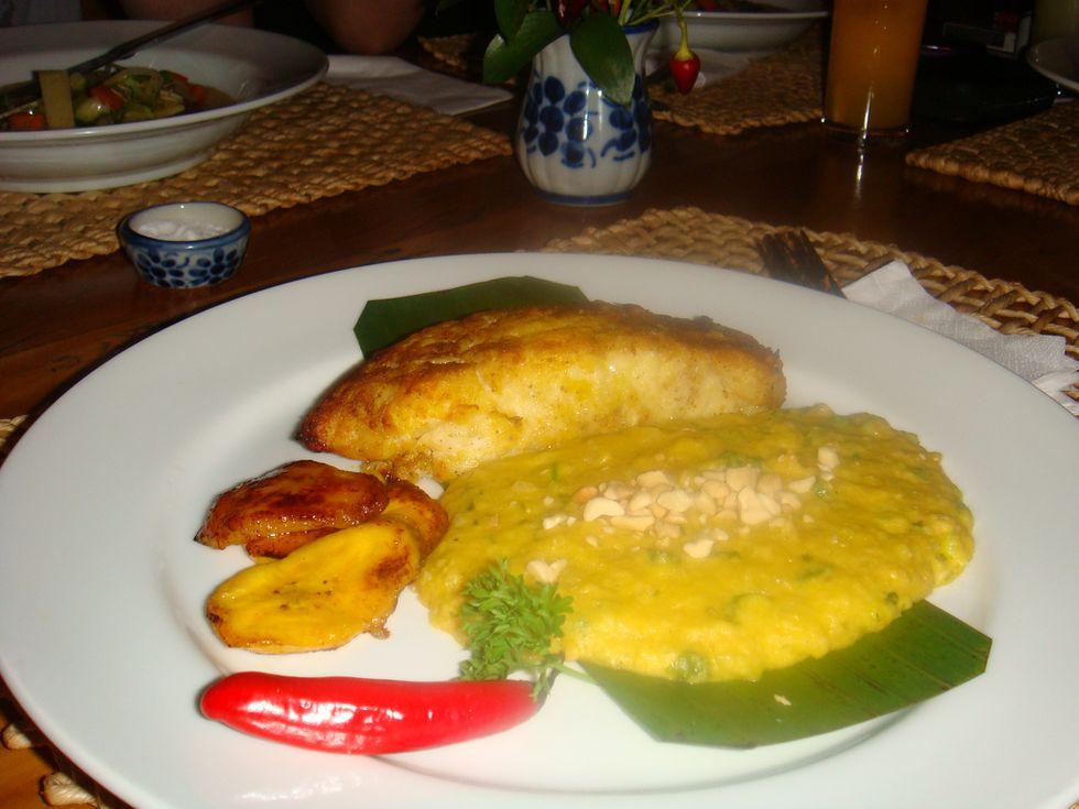 Cernia, cipolla e pomodoro: il vatapà di Jorge Amado