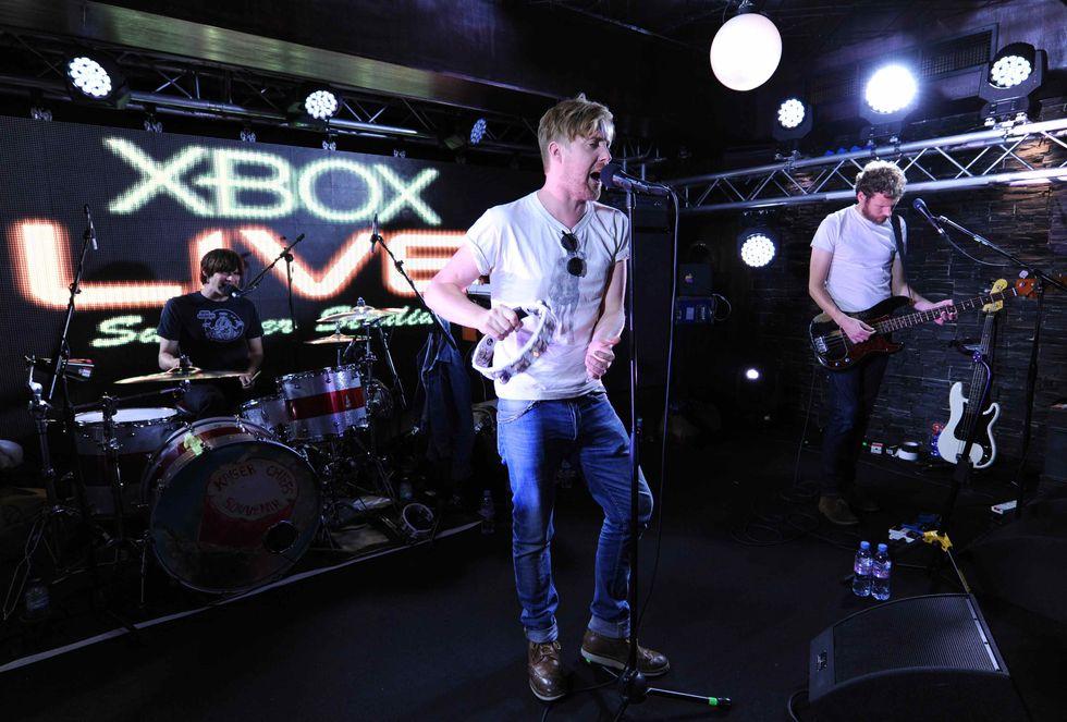 I Kaiser Chiefs in concerto sulla Xbox - L'intervista