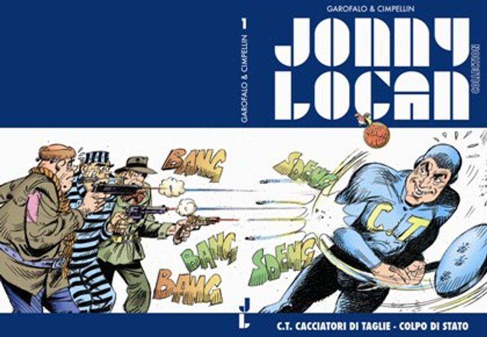 Fumetti: il ritorno di Jonny Logan