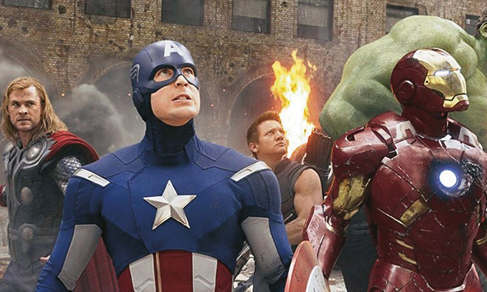 Dvd in edicola con Panorama, The Avengers