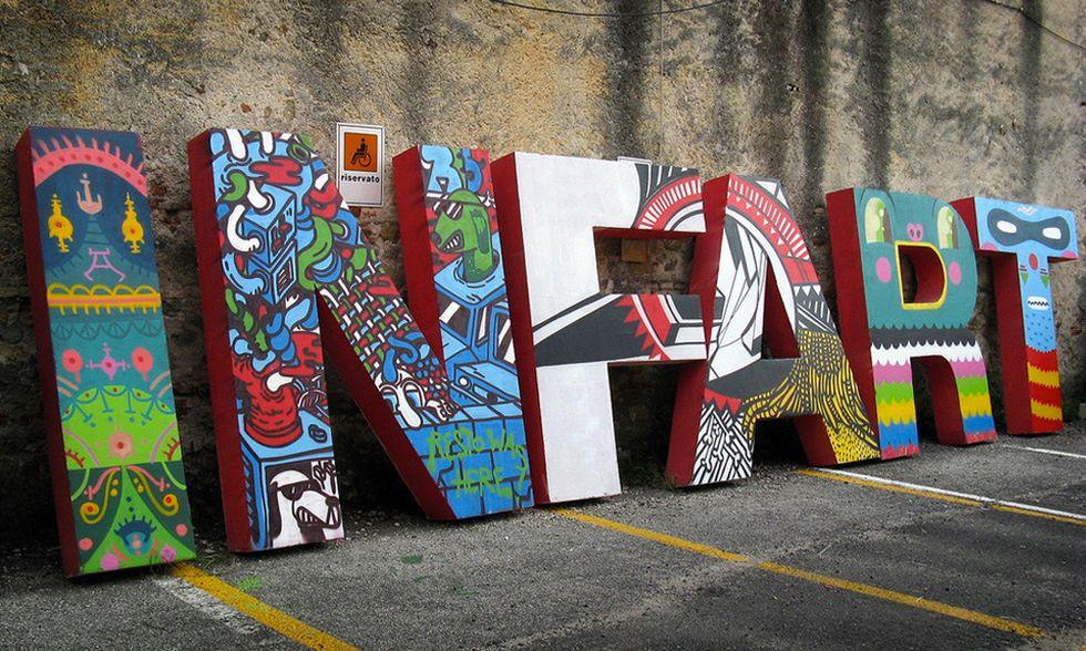 La Street art invade Bassano con Infart