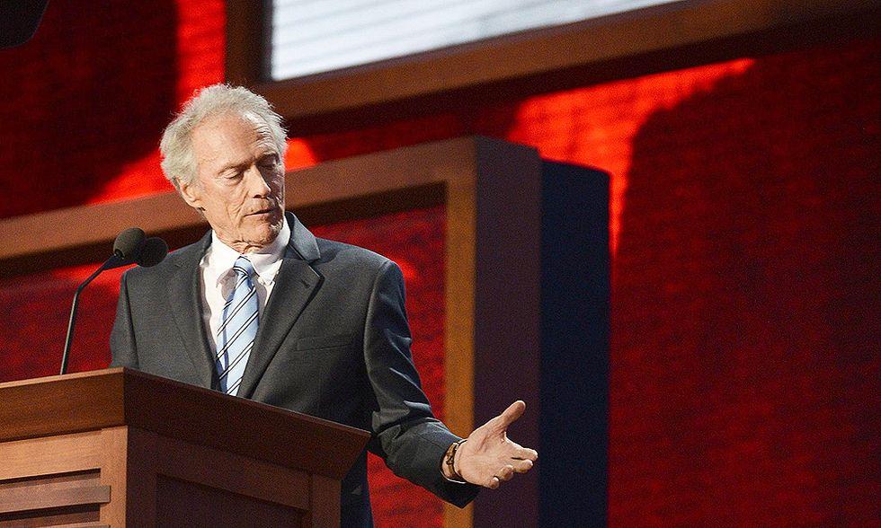 Clint Eastwood, ma sei proprio tu?