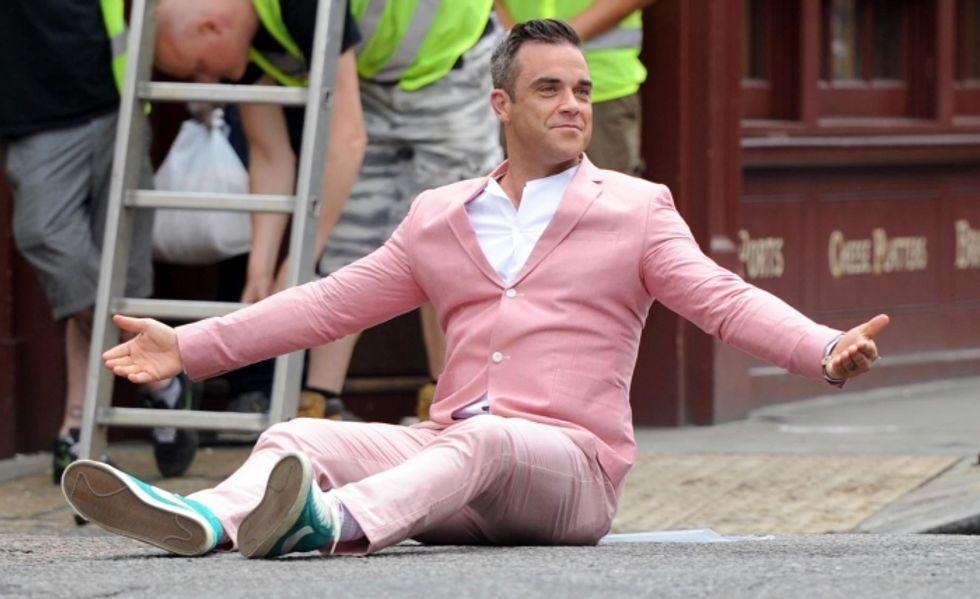 Robbie Williams: popstar e stilista