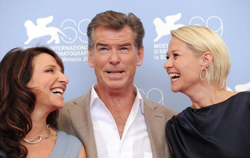 """Pierce Brosnan a Venezia per Susanne Bier, """"Sorrento è la città più romantica al mondo"""""""