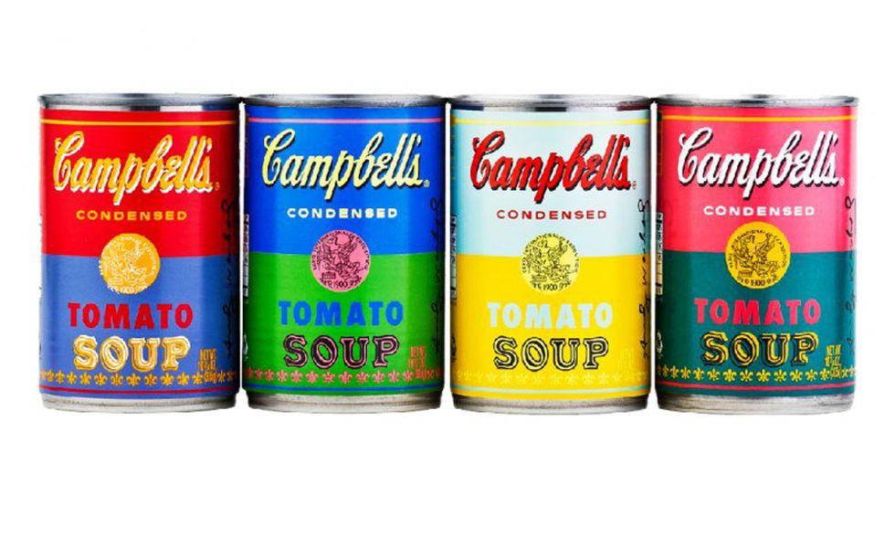 Arte: la zuppa Campbell di Warhol compie 50 anni
