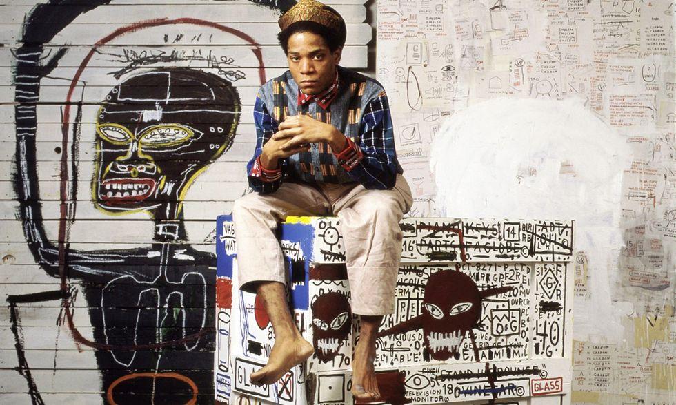 Arte: Jean-Michel Basquiat, The radiant child