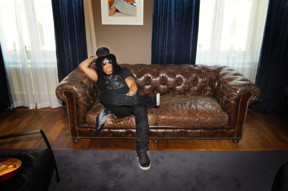 Ricette rock: ricciola alla Slash