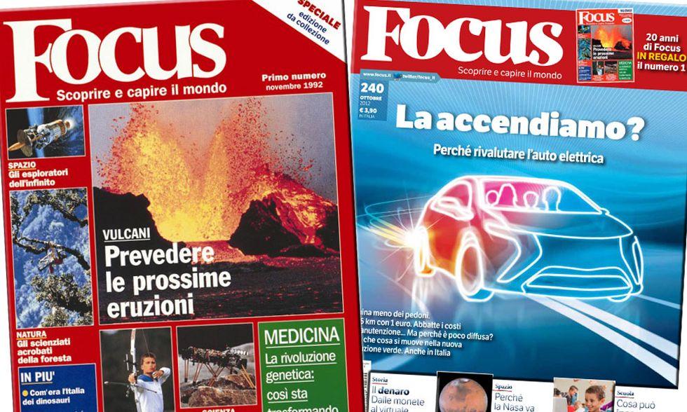 Focus festeggia 20 anni con un'uscita speciale