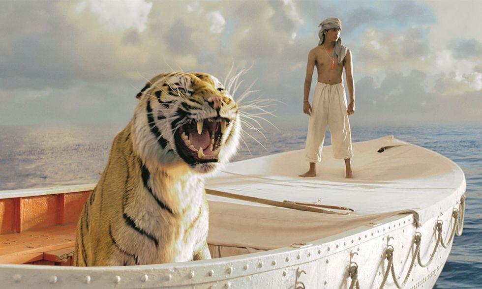 La vita di Pi, solo in mare, con una tigre, per 227 giorni: così si cresce