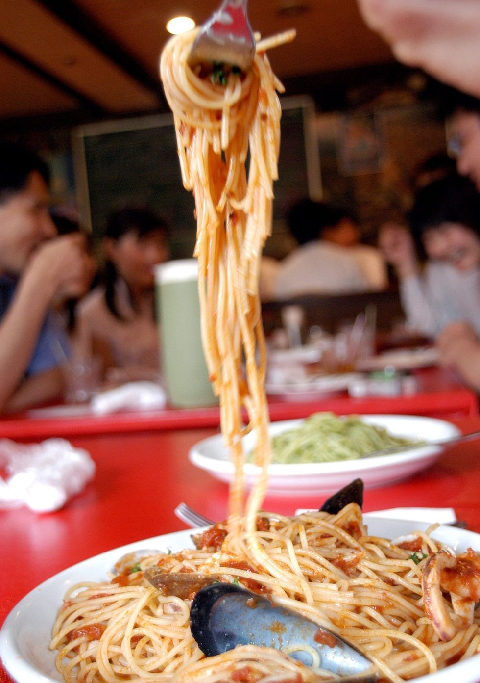 Gli spaghetti cucinati da Gian Carlo Fusco