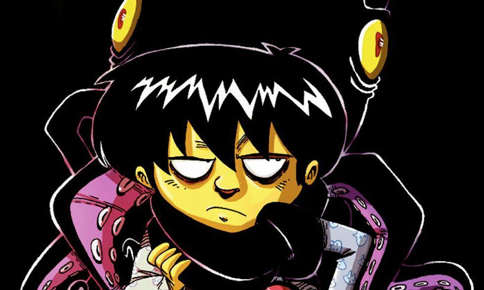 'Un polpo alla gola': una storia a fumetti per affrontare le ansie e crescere