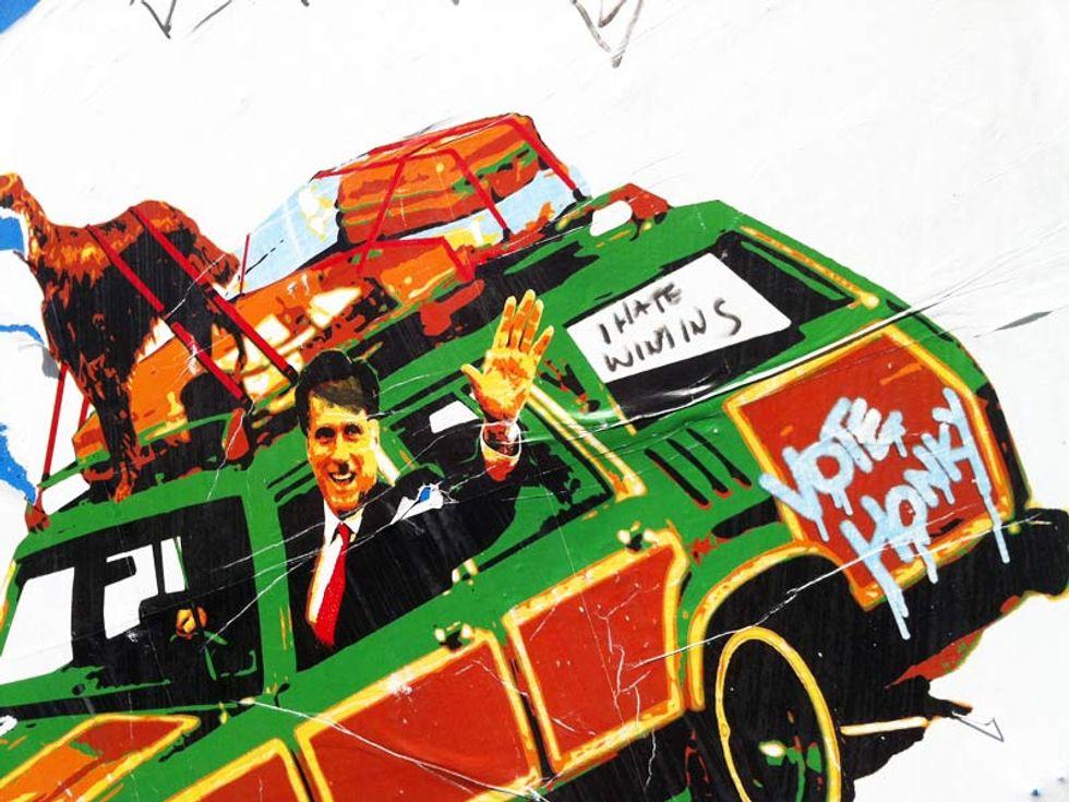 Presidenziali Usa, gli street artist contro Romney
