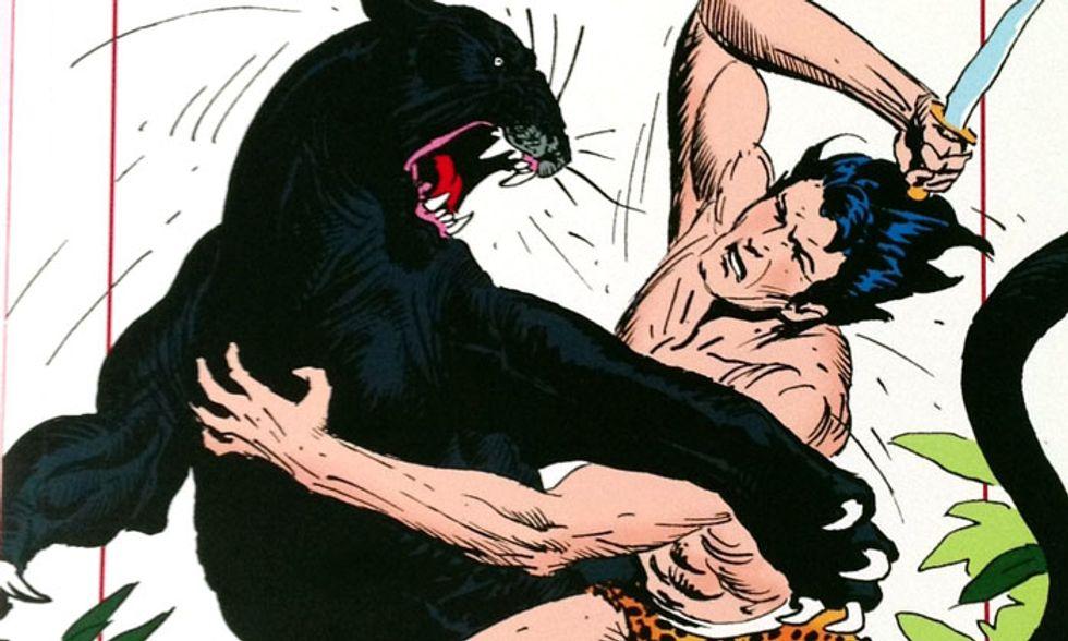 'Tarzan. Gli anni di Joe Kubert', un fumetto per riscoprire un classico della letteratura
