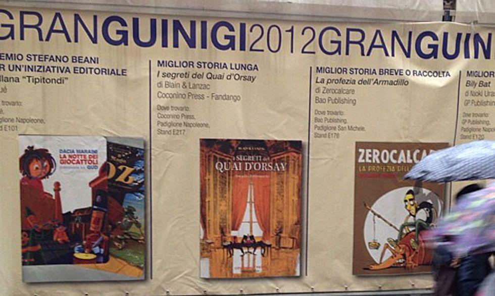 Lucca Comics 2012: i vincitori