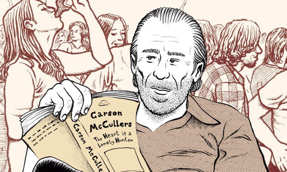 """'Goodbye Bukowski': ritratto intimo a fumetti dello scrittore """"maledetto"""""""