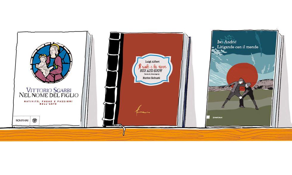 Da Ivo Andric a Vittorio Sgarbi, libri e racconti su teneri fanciulli
