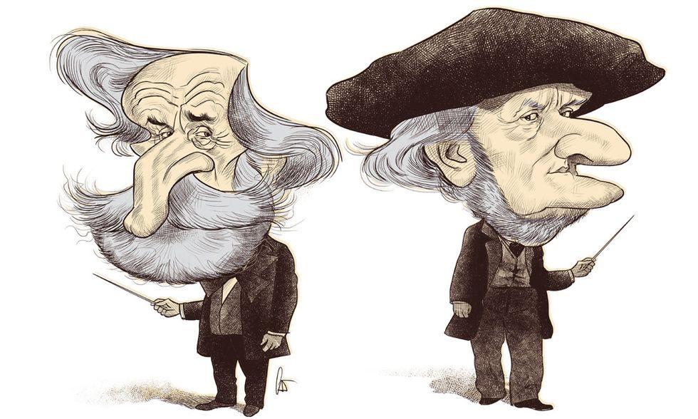 Wagner contro Verdi: quando la sfida è retorica