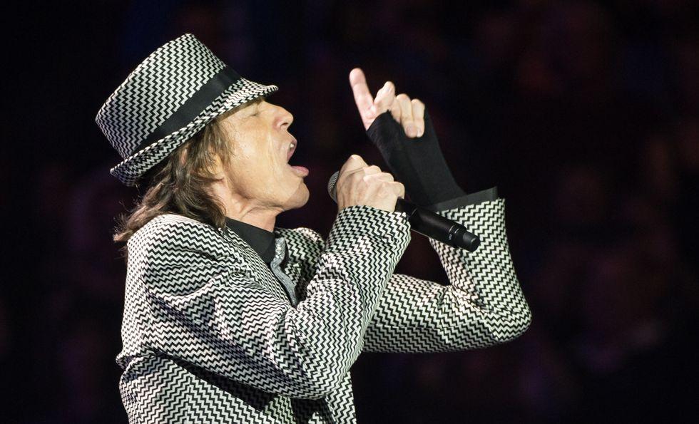 Mick Jagger di nuovo padre a 72 anni