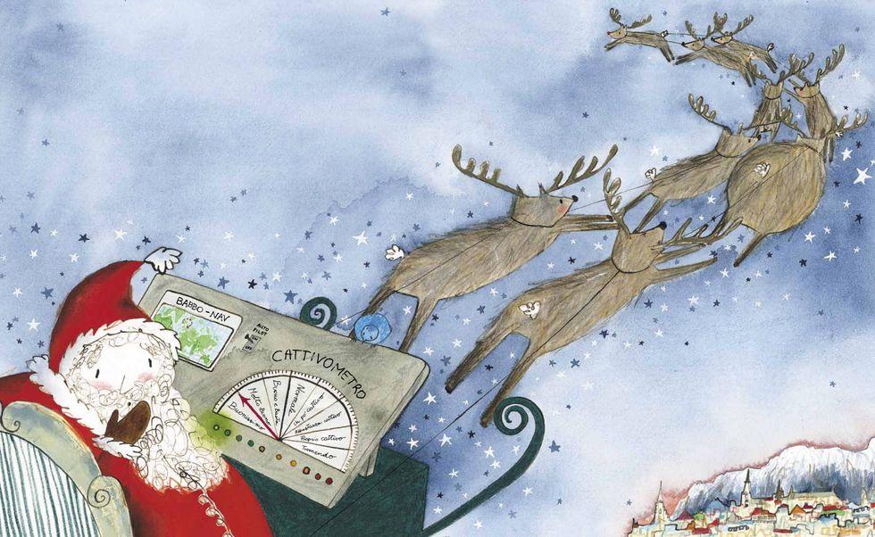 'L'errore di Babbo Natale', la prima favola di Richard Curtis