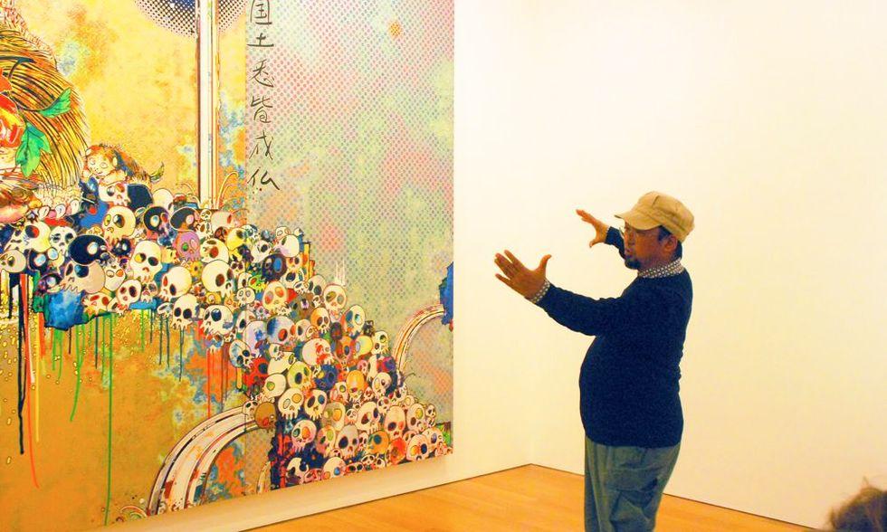 Arte, teschi e fiori nella nuova personale di Takashi Murakami alla Gagosian di Hong kong