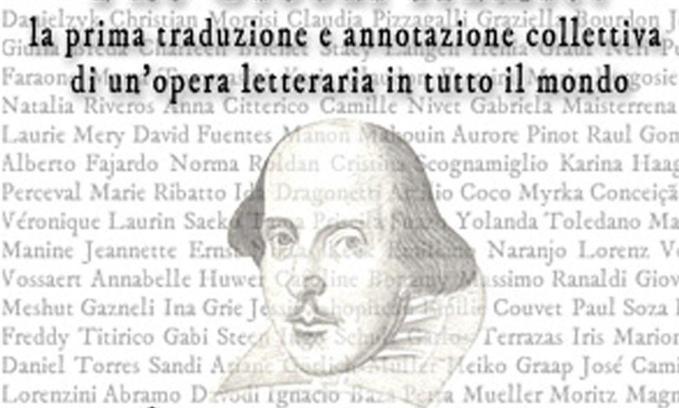 Shakespeare protagonista del primo crowdsourcing della letteratura