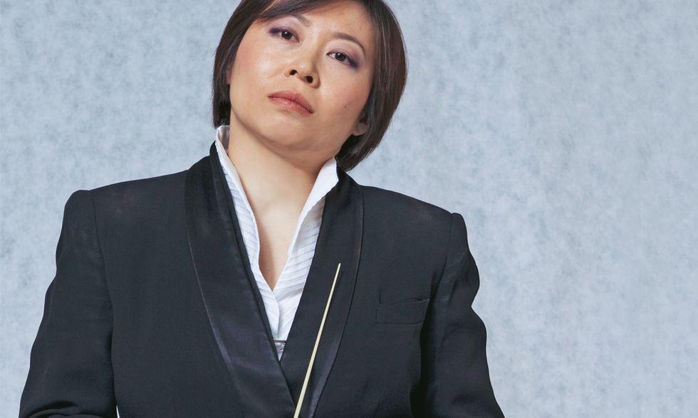 Il direttore d'orchestra Zhang Xian: sul podio divento un gigante