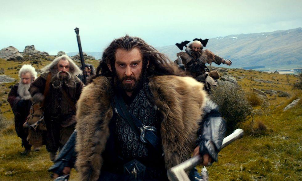 Lo Hobbit - Un viaggio inaspettato, lo streming della première di Londra