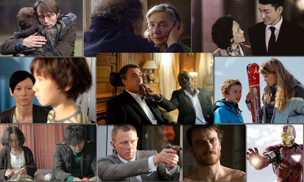 I 10 film più belli del 2012