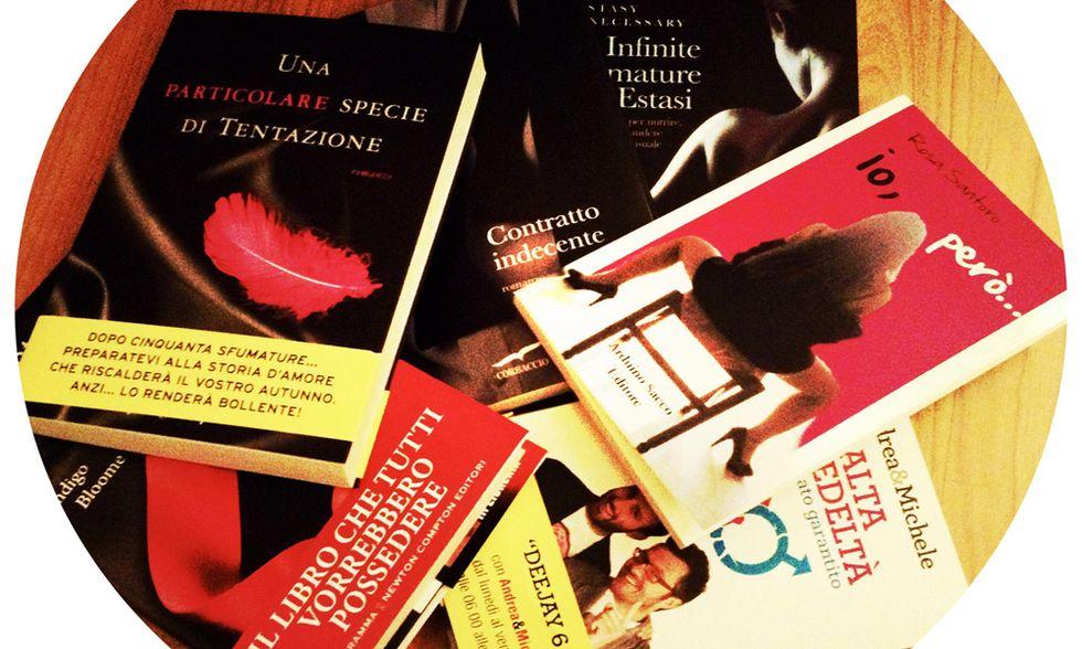 10 libri sexy + 1 da regalare a Natale