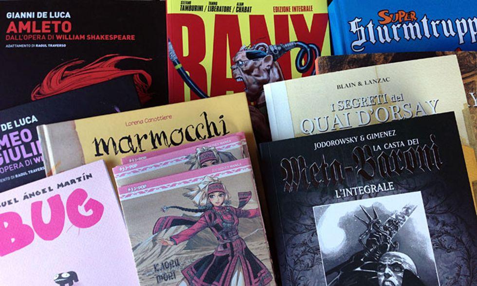 10 fumetti da regalare
