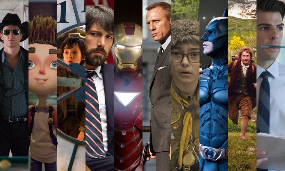 I 10 film americani più belli del 2012
