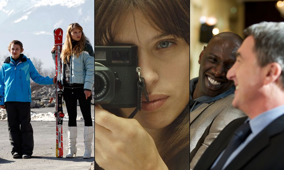 I 10 film francesi più belli del 2012