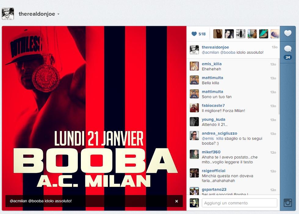 "I rapper italiani in attesa di ""A.C. Milan"""