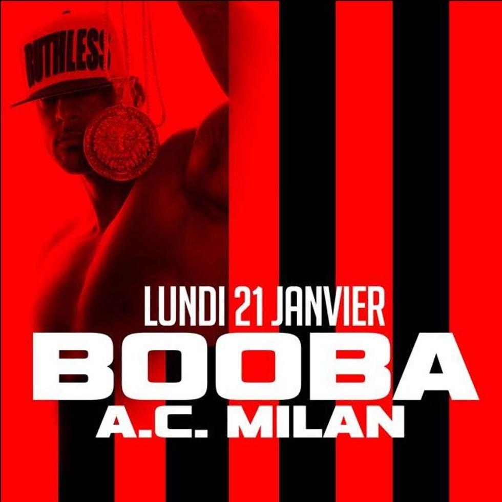 Il rapper francese Booba annuncia un brano dedicato al Milan
