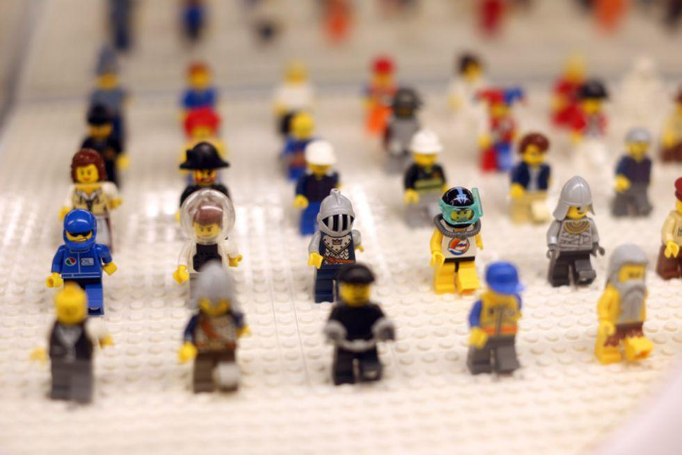 Libri-Lego, storie da leggere e costruire