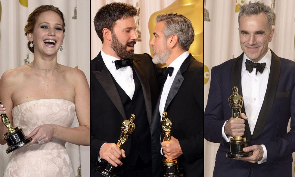 Oscar 2013, i vincitori in foto