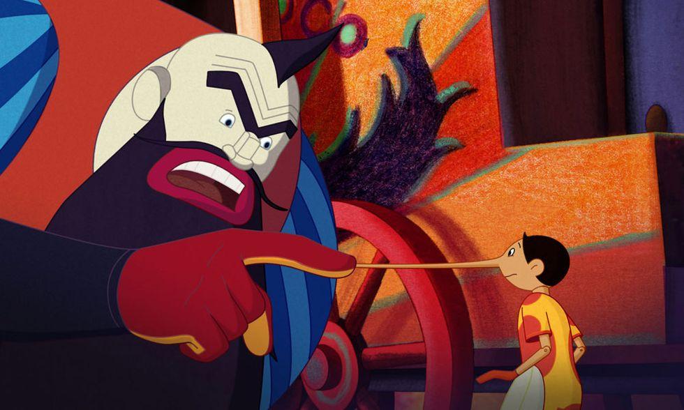 Pinocchio, al cinema la colorata poesia di Enzo D'Alò - Video