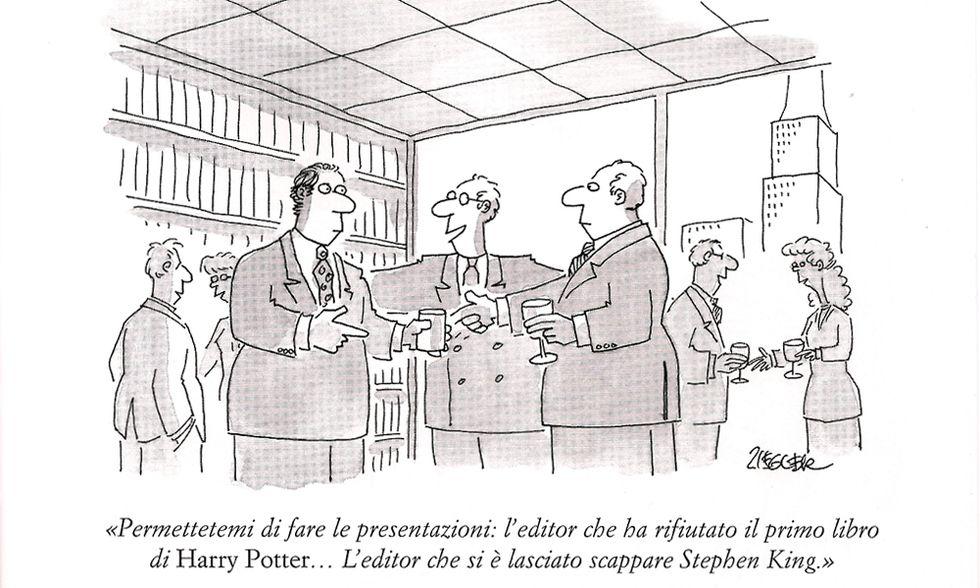 The New Yorker, Lo humour dei libri