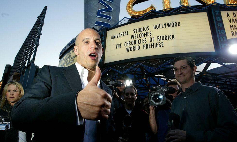 Il trailer di Riddick, l'eroe fantascientifico di Vin Diesel
